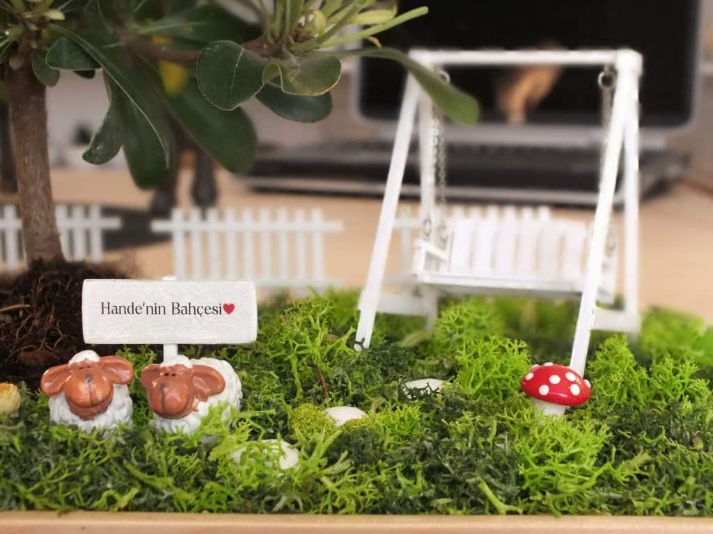 Anneler Gününe Özel Minyatür Bahçe
