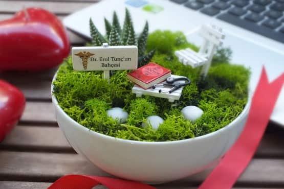 Minyatur Bahce - Tip Bayrami - Kitap (3)